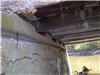 Crack in Support Directly Under Bridge 2