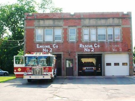 Fire Station 2 with Engine 2