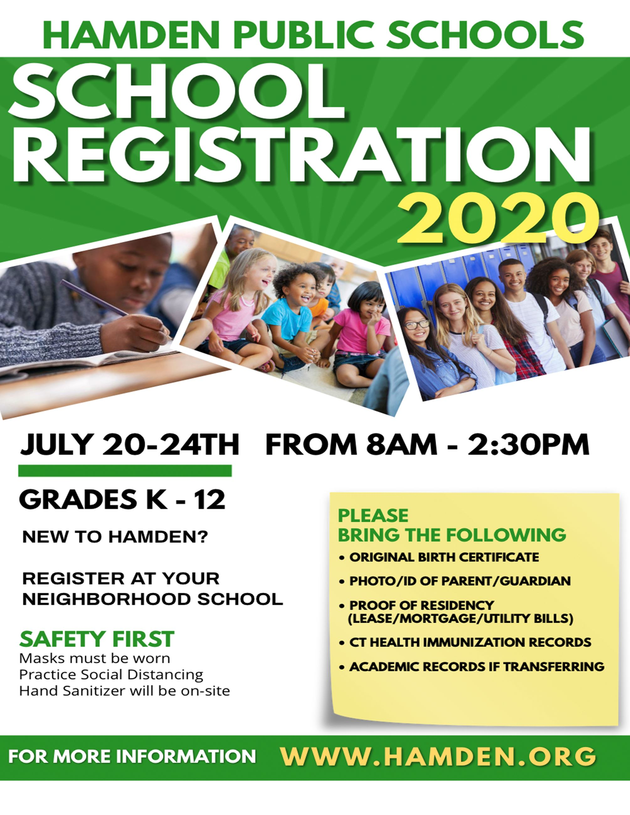School Registration English