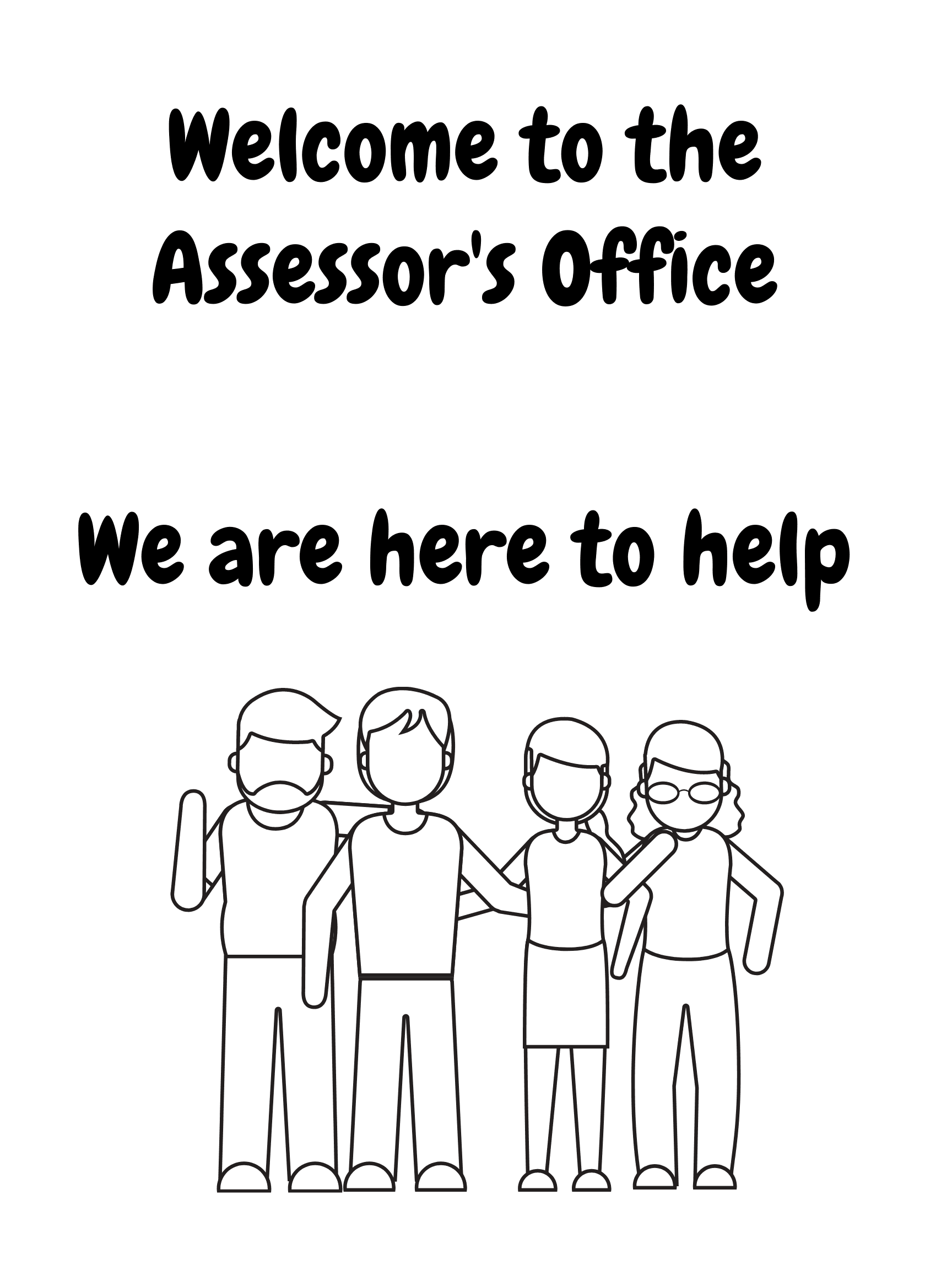 Assessors page welcome