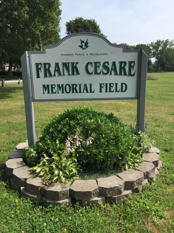 Frank Cesare Memorial Field Sign