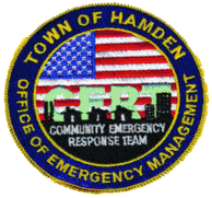 Town of Hamden Office of Emergency Management Patch