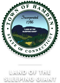 Town of Hamden State of Connecticut. Land of The Sleeping Giant