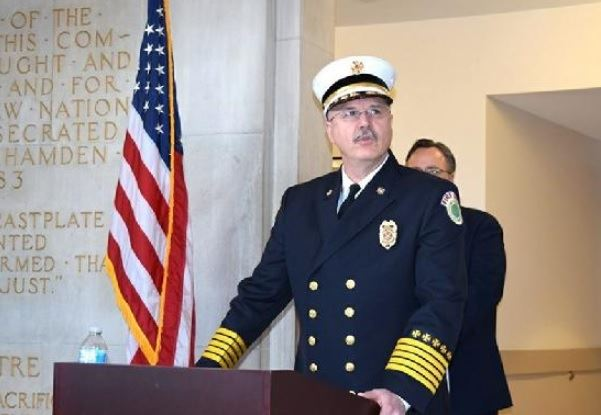 Fire Chief Gary P. Merwede