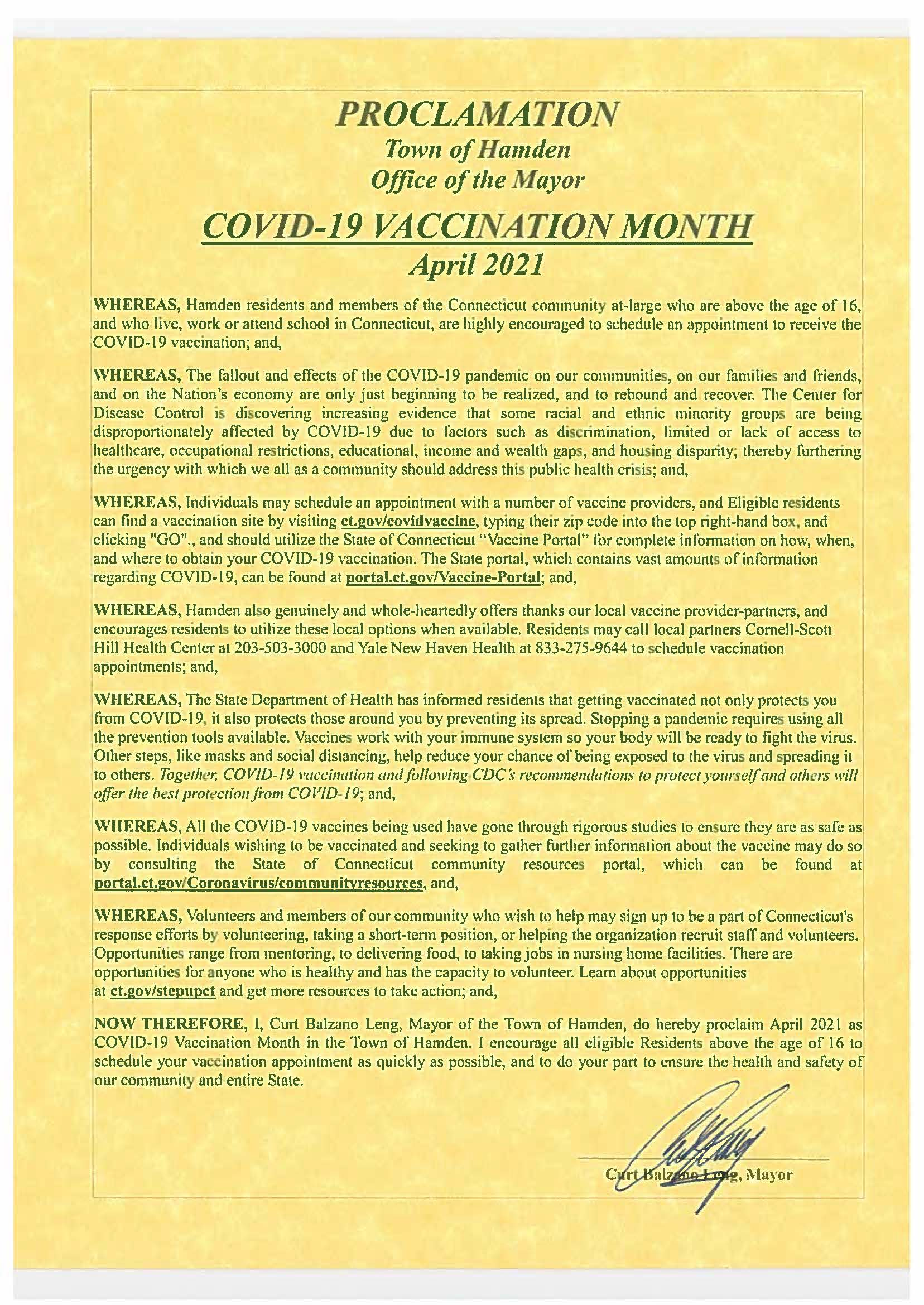 COVID-19 Vaccination Month